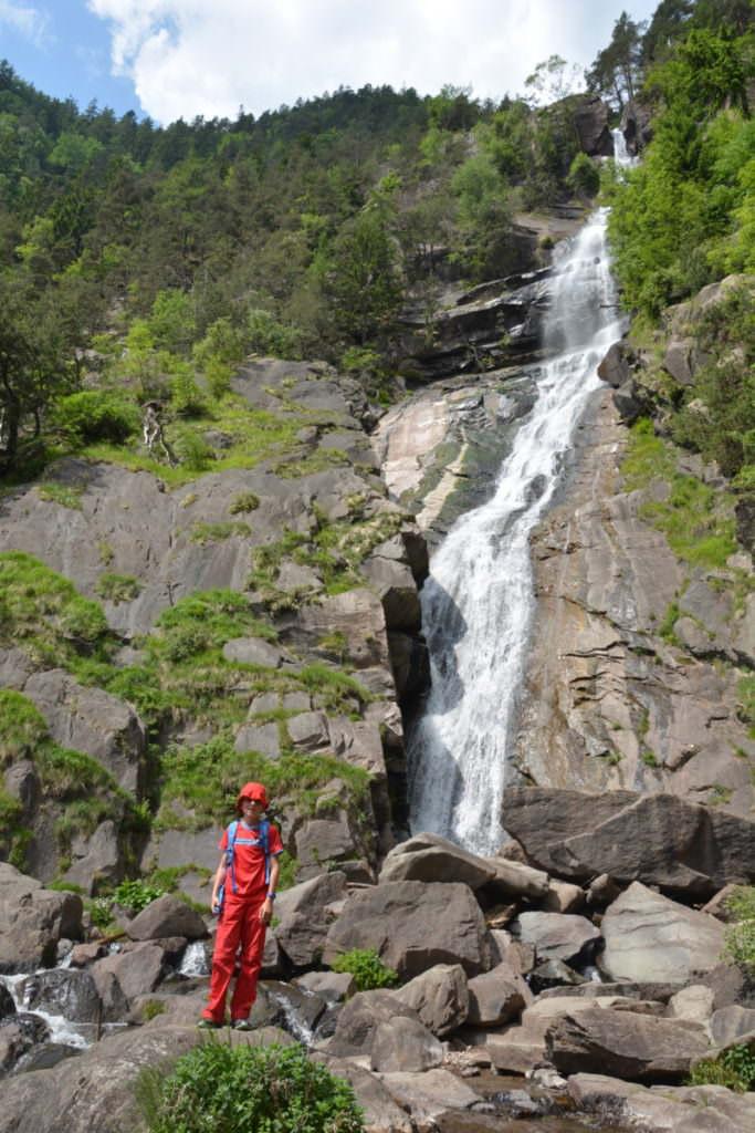 Barbianer Wasserfälle - riesig groß!
