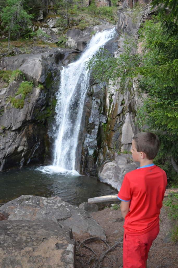 Barbianer Wasserfälle Südtirol - schön zu wandern
