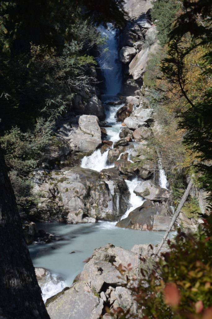 Der große Wasserfall bei der Burkhardklamm