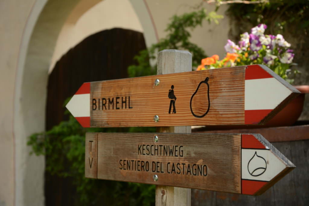 Keschtnweg - Fernwanderweg Südtirol