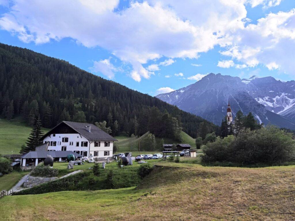 Almi´s Berghotel mit der Panoramalage in Obernberg