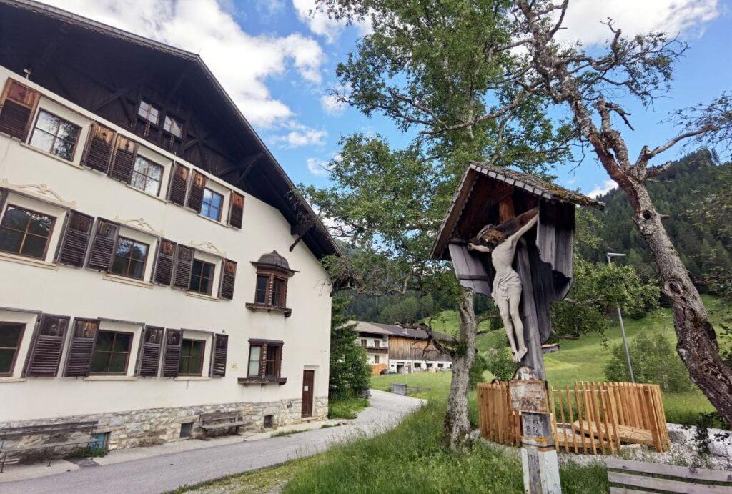 Unsere Ankunft bei der Ferienwohnung in Almi´s Berghotel