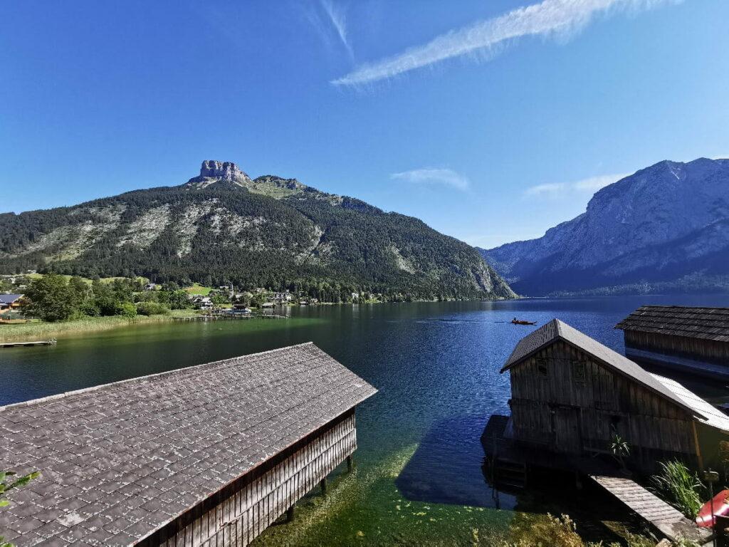 Altausseer See Panorama - links der Loser