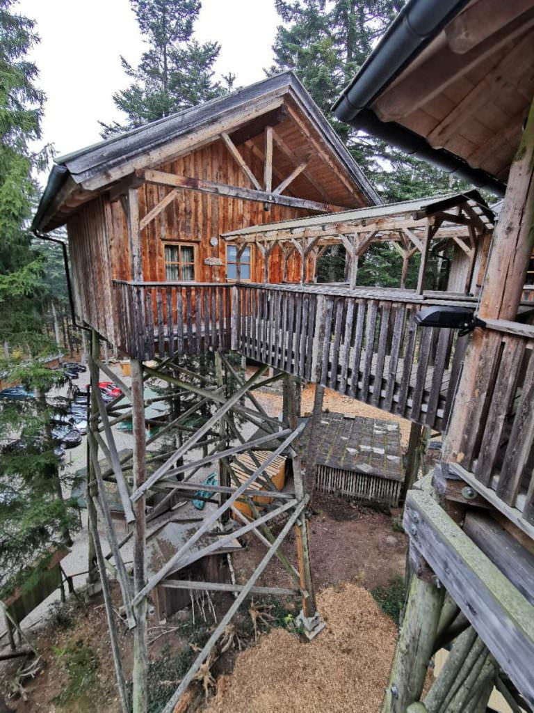 Außergewöhnlich Übernachten im Baumhaushotel Österreich