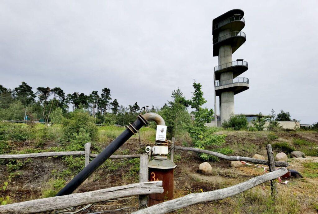 Ausflugsziele Oberlausitz mit Kindern: Turm am Schweren Berg