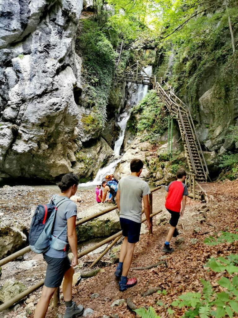 Geheime Ausflugsziele Steiermark - die Kesselfallklamm