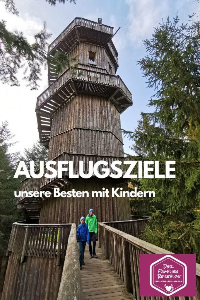 Ausflugsziele mit Kinder finden - merk dir diesen Pin auf Pinterest!