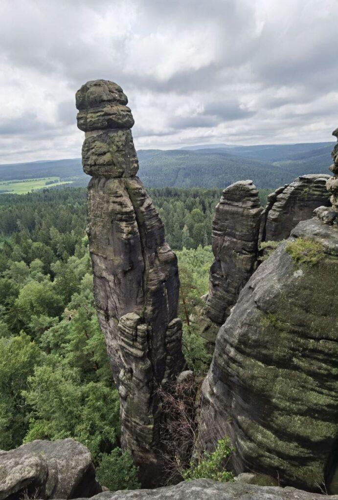 Die Barbarine - Sächsische Schweiz Sehenswürdigkeit