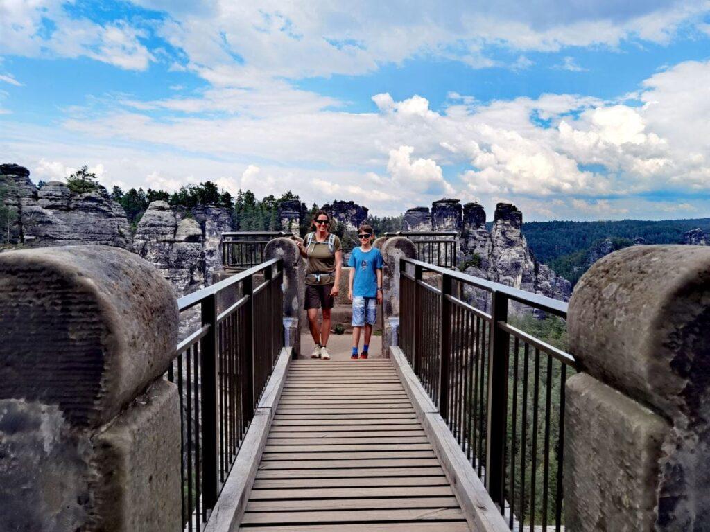 Bastei Wandern mit Kindern