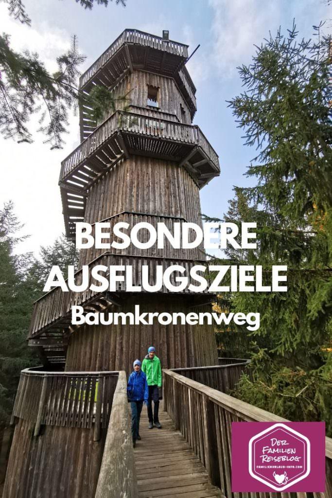 Besondere Ausflugsziele Österreich - der Baumkronenweg und das Baumhaushotel