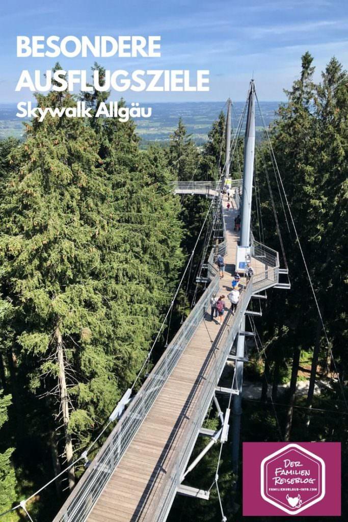 Besondere Ausflugsziele im Allgäu - der Skywalk Scheidegg