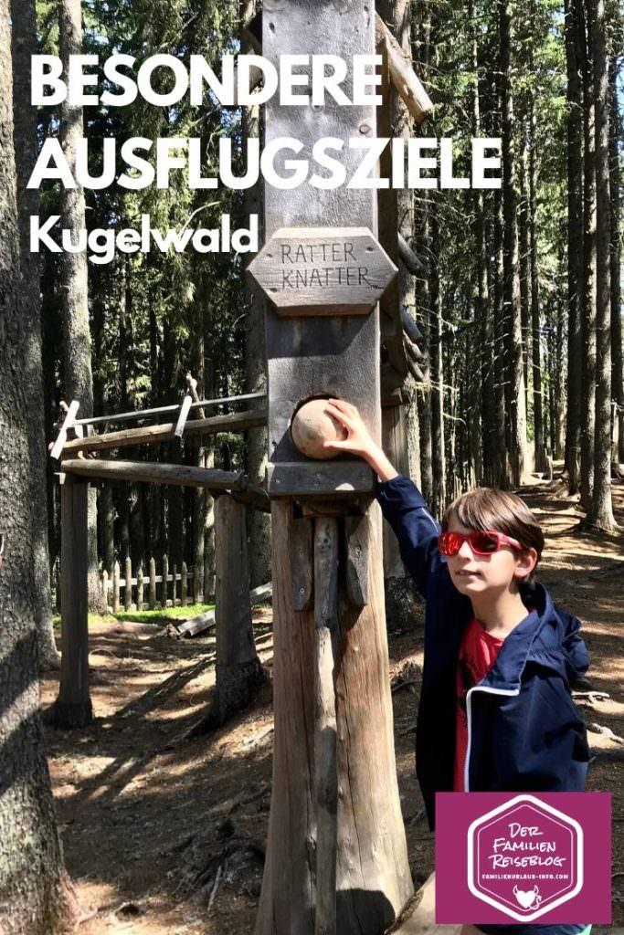 Besondere Ausflugsziele - der Kugelwald in Tirol