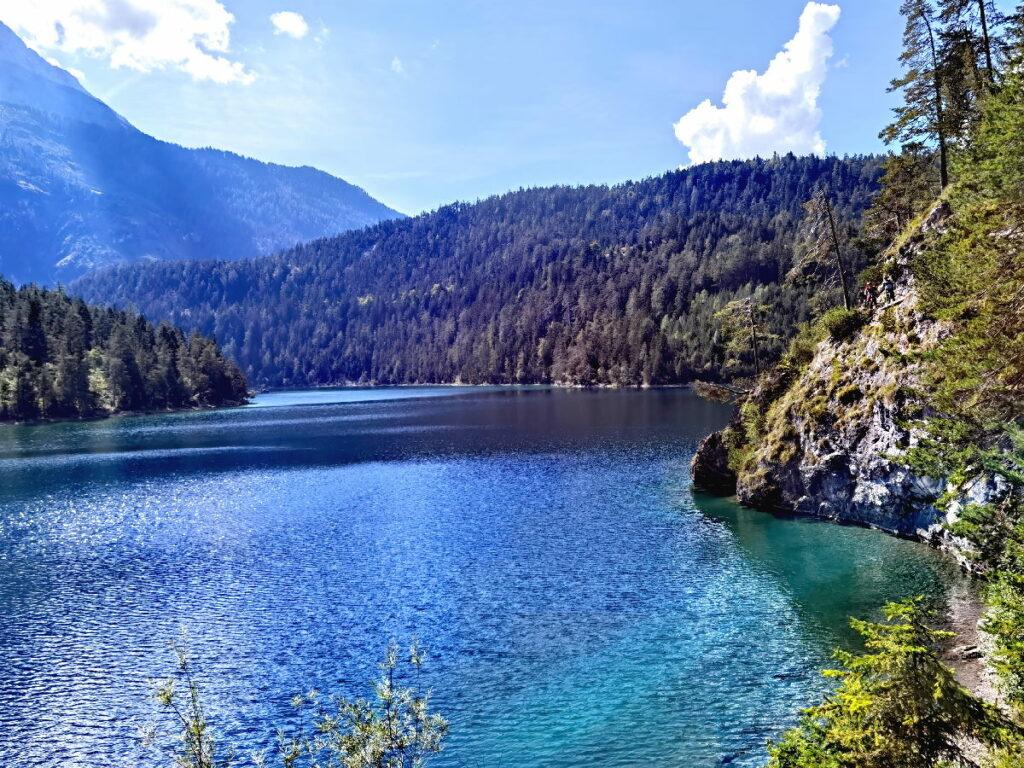 Der Blindsee - ein Bergsee mit glasklarem Wasser
