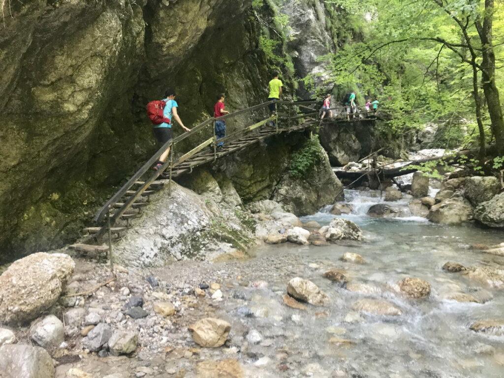 Von der Tscheppaschlucht weiter wandern ins Bodental - das ist der Weg