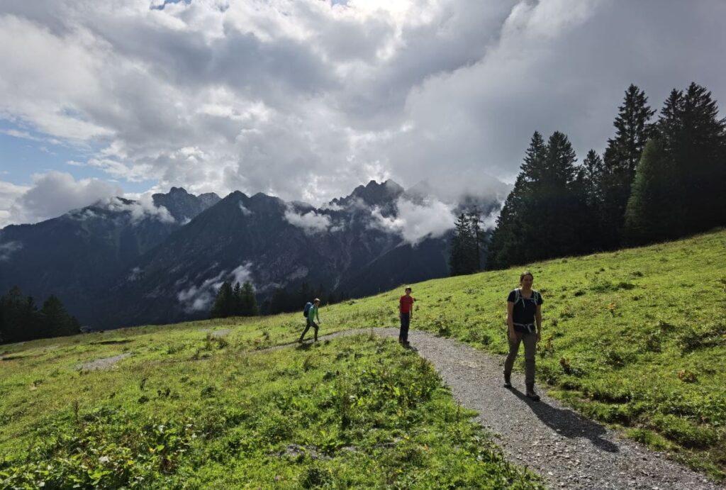 Unsere Brandnertal Wanderung - von der Bergstation zum Barfußweg