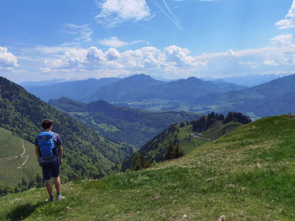 Auf den Aussichtsberg am Walchsee mit Kindern wandern - anspruchsvoll, aber schön!