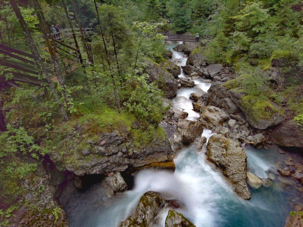 Geheime Schlucht in Vorarlberg: Die Bürser Schlucht zwischen Bürs und Bürserberg