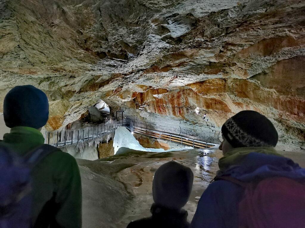 Unser Besuch in der Dachstein Rieseneishöhle