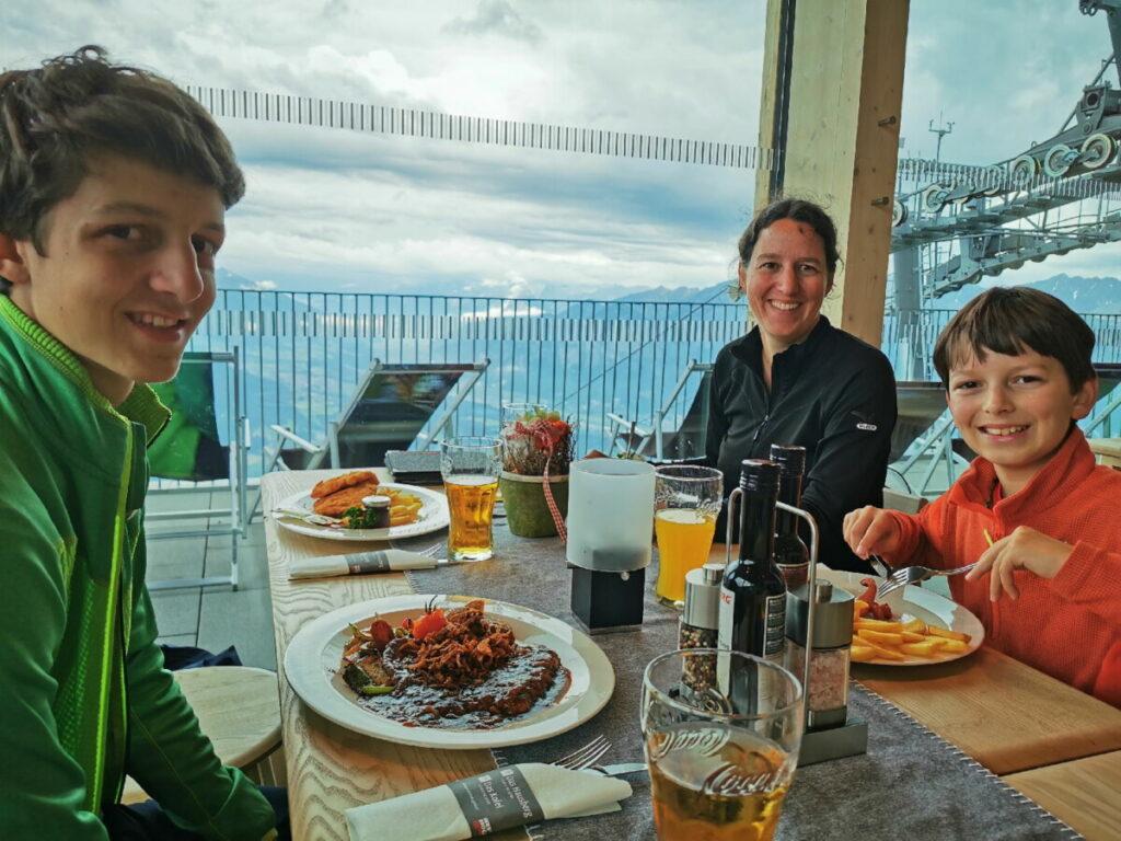 Das Kofel - unsere Einkehr mit Panoramablick