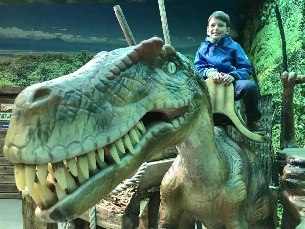 Herbsturlaub mit Kindern - unser Ausflug ins Dinoland