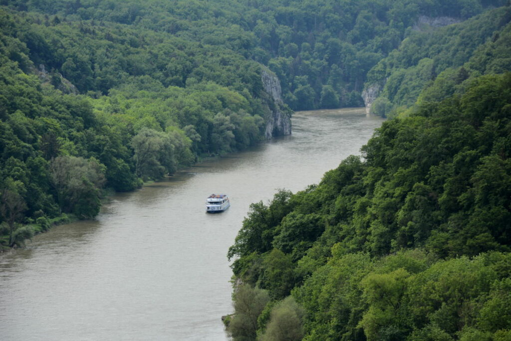 So kannst du den Donaudurchbruch von oben sehen