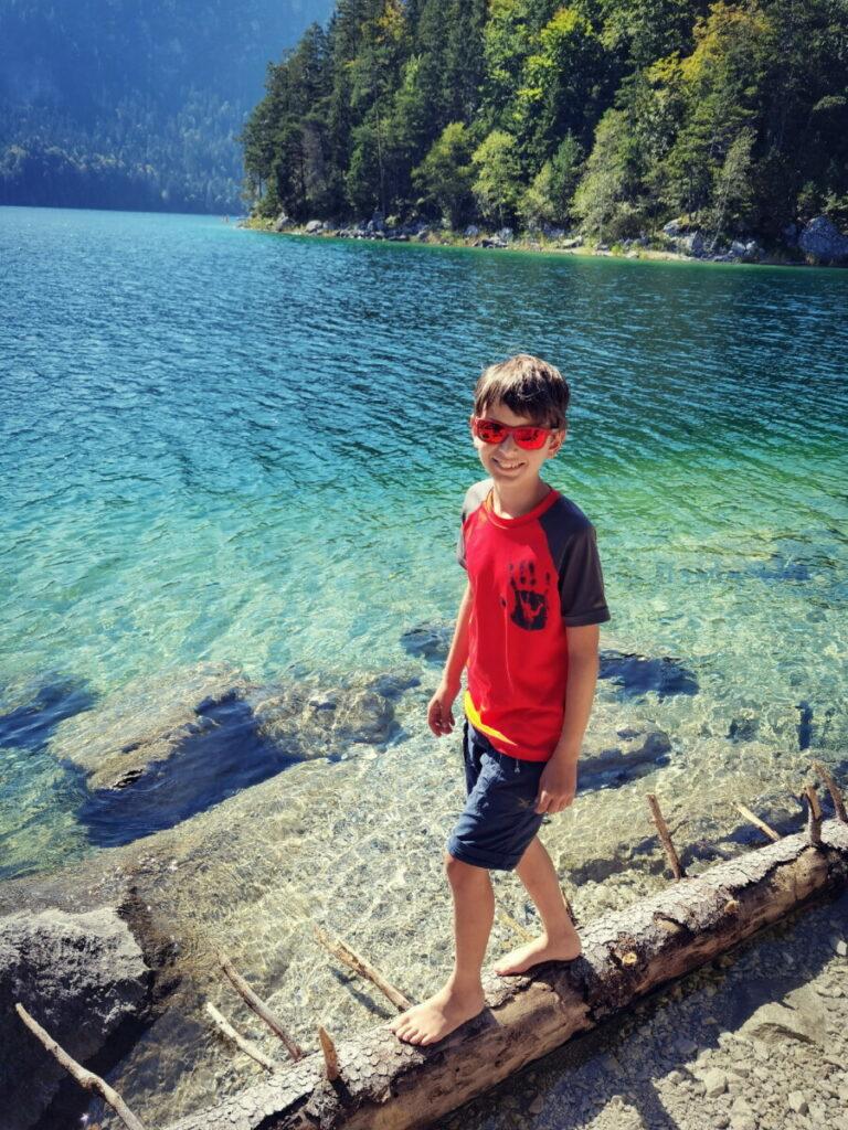 Am Eibsee mit Kindern - nicht weit vom Zugspitz Resort Ehrwald