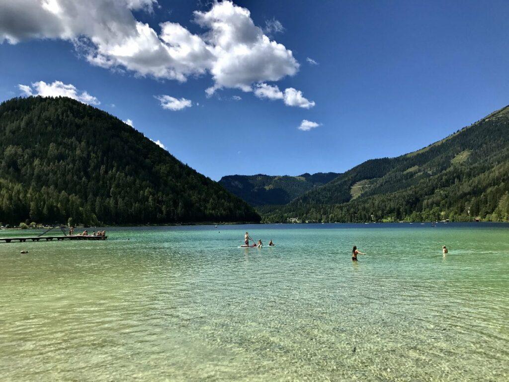 Der Erlaufsee - türkisgrüne Karibik in Österreich