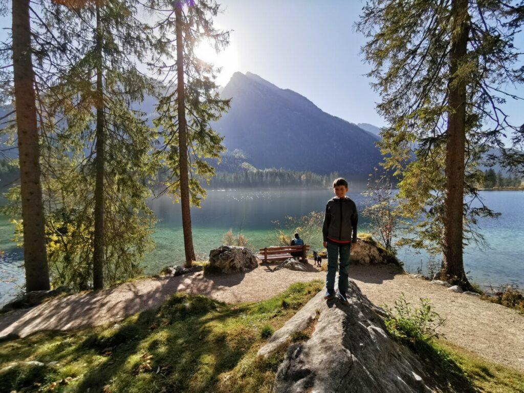 Vom Familienhotel Berchtesgaden lieben wir diesen Ausflug zum See!