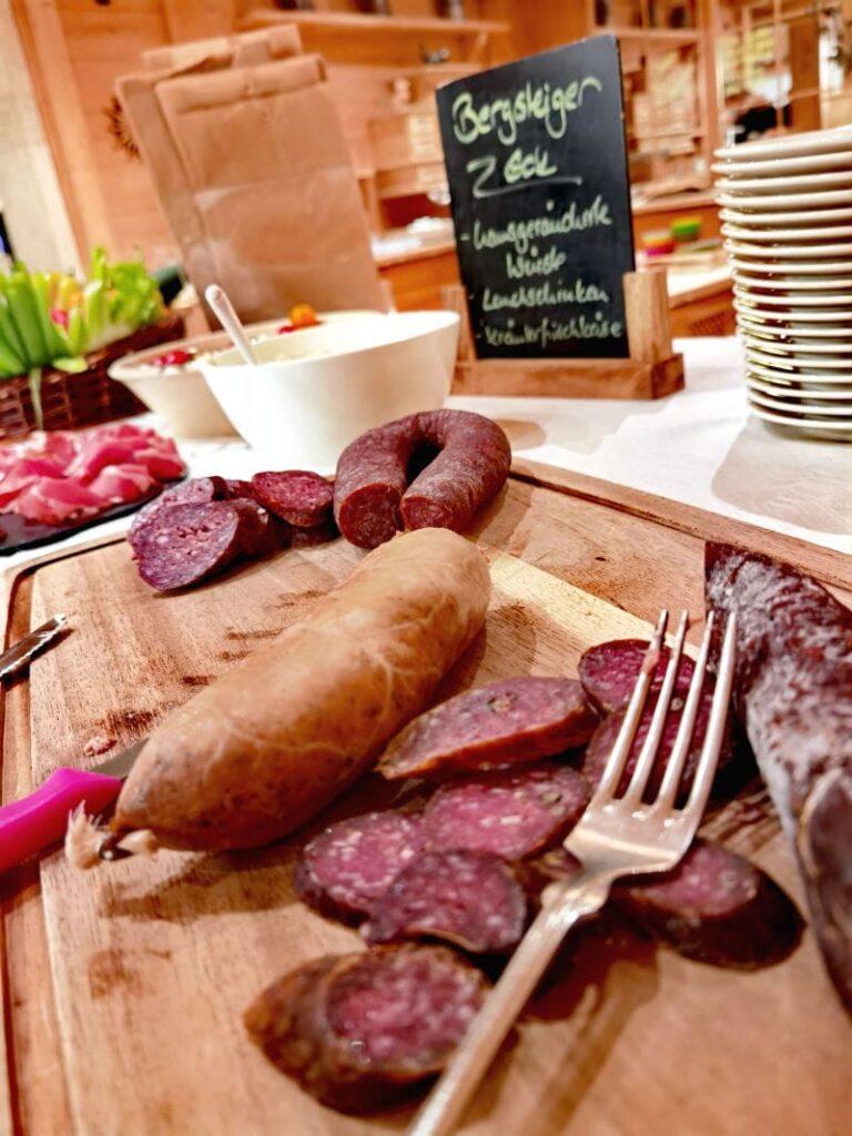 Das Kulinarium im Rosenhof ist unschlagbar! Besser kann es in keinem Familienhotel im Kleinwalsertal sein.