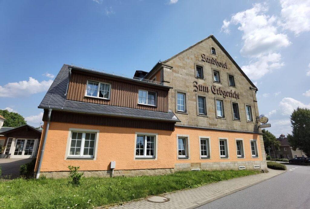 Familienhotel Sächsische Schweiz - die Suite mit getrennten Schlafzimmern war perfekt für uns