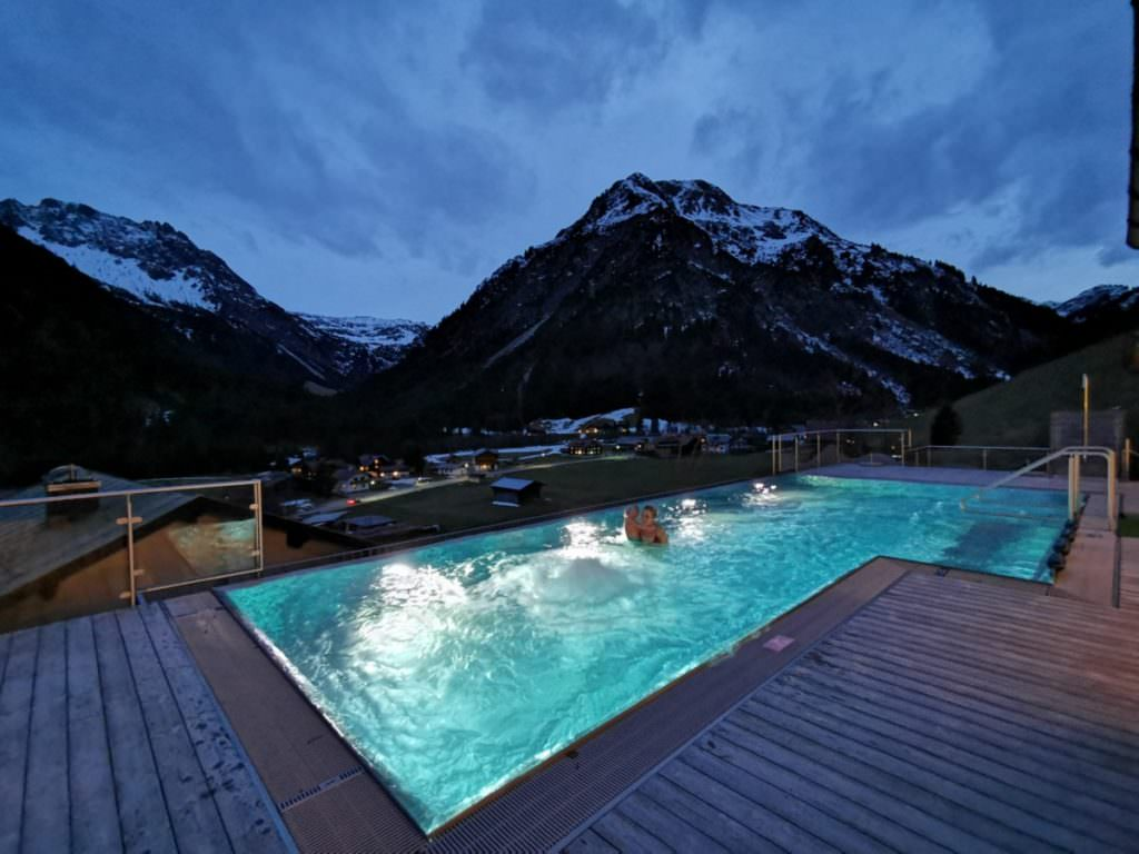 Familienhotel an der Piste - mit Pool, Rosenhof Kleinwalsertal