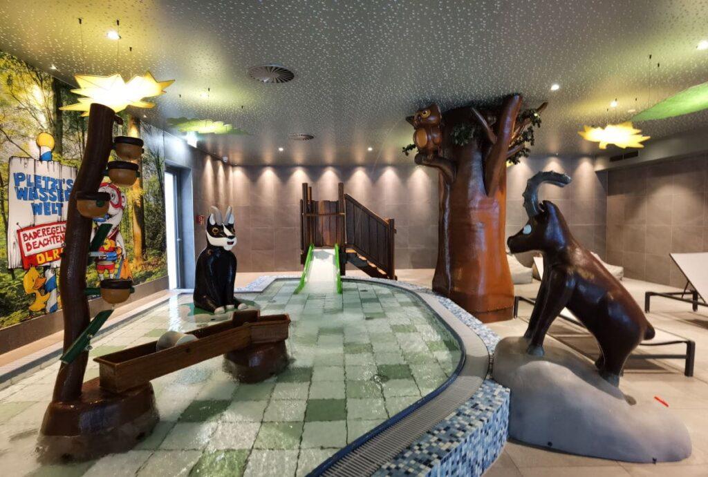 Bayrischzell Familienhotel mit Pool für Kleinkinder