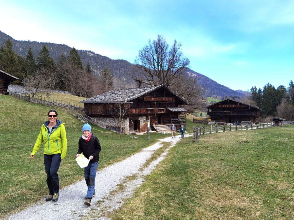 Familienurlaub Alpbach - unser Ausflug ins Höfemuseum Kramsach