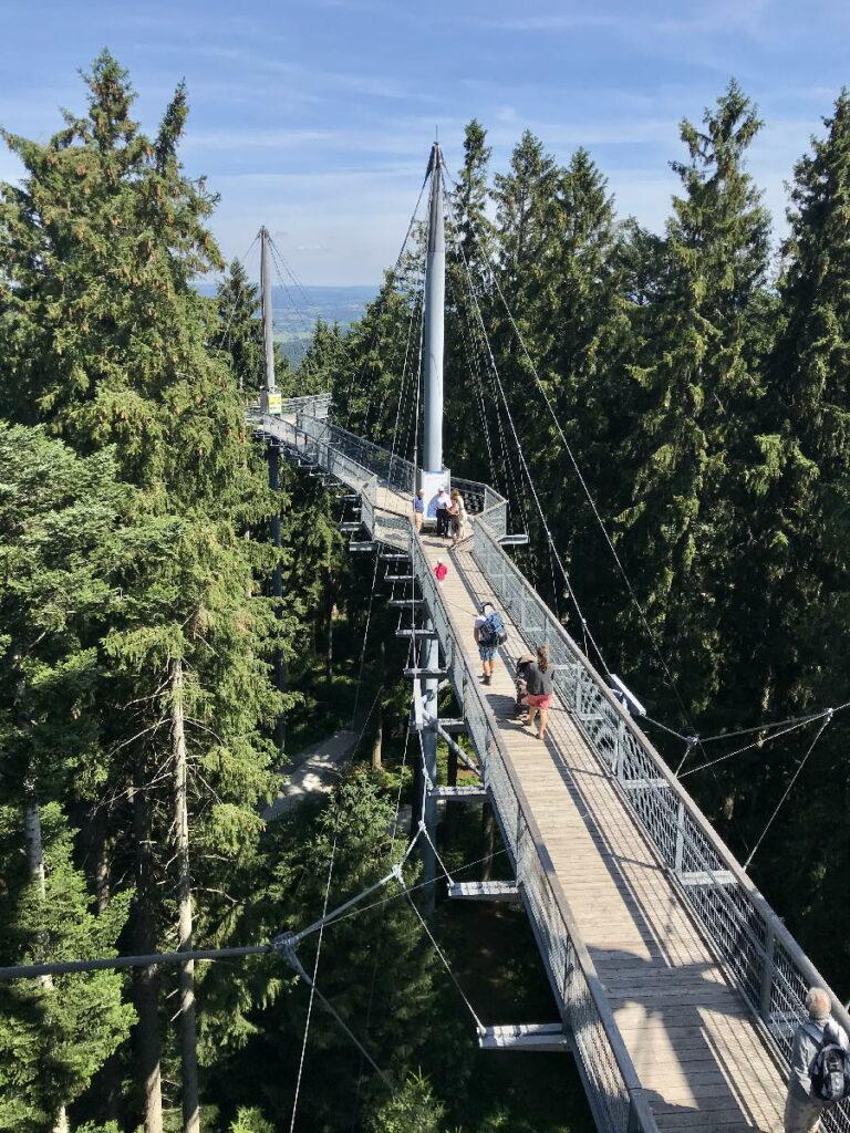 Familienurlaub Deutschland im Allgäu - so toll ist der Skywalk Allgäu