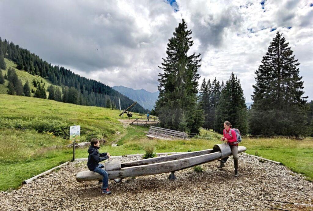 Familienurlaub Laterns - entspannt in den Bergen, ohne die Masse von Menschen
