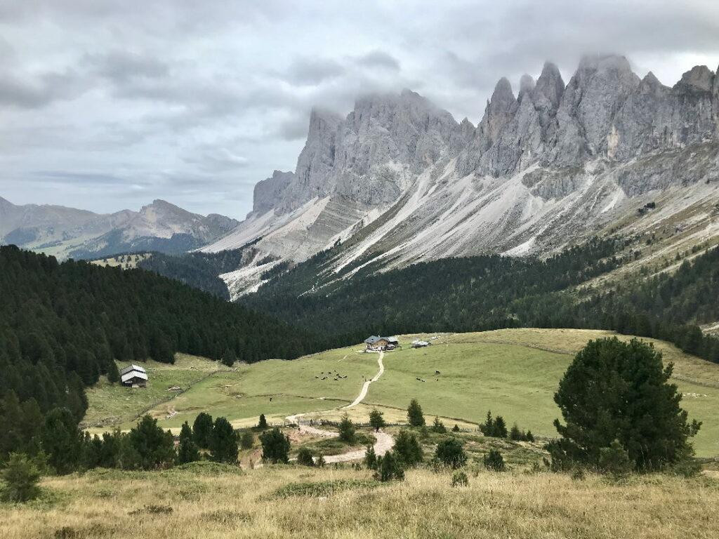 Sehnsuchtsort für den Familienurlaub Südtirol - die Dolomiten