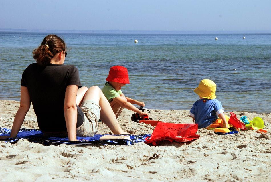 Familienurlaub Sommer am Strand