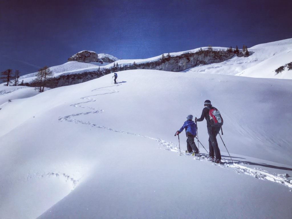 Familienurlaub Winter ohne Skifahren - unsere coole Schneeschuhwanderung