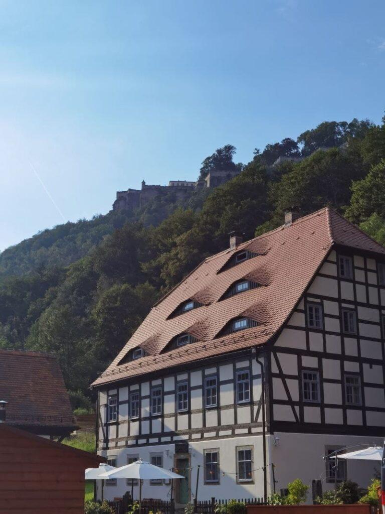 Ferienwohnung Sächsische Schweiz mit Kindern - unser Domizil im Schwenkehof