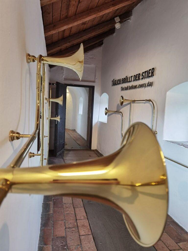 Für uns das Highlight auf der Festung Hohensalzberg: Der Salzburger Stier