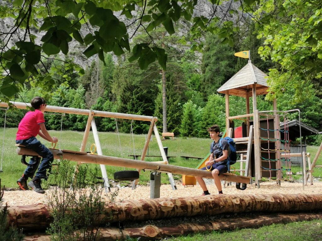Der Gaisalm Spielplatz am Achensee