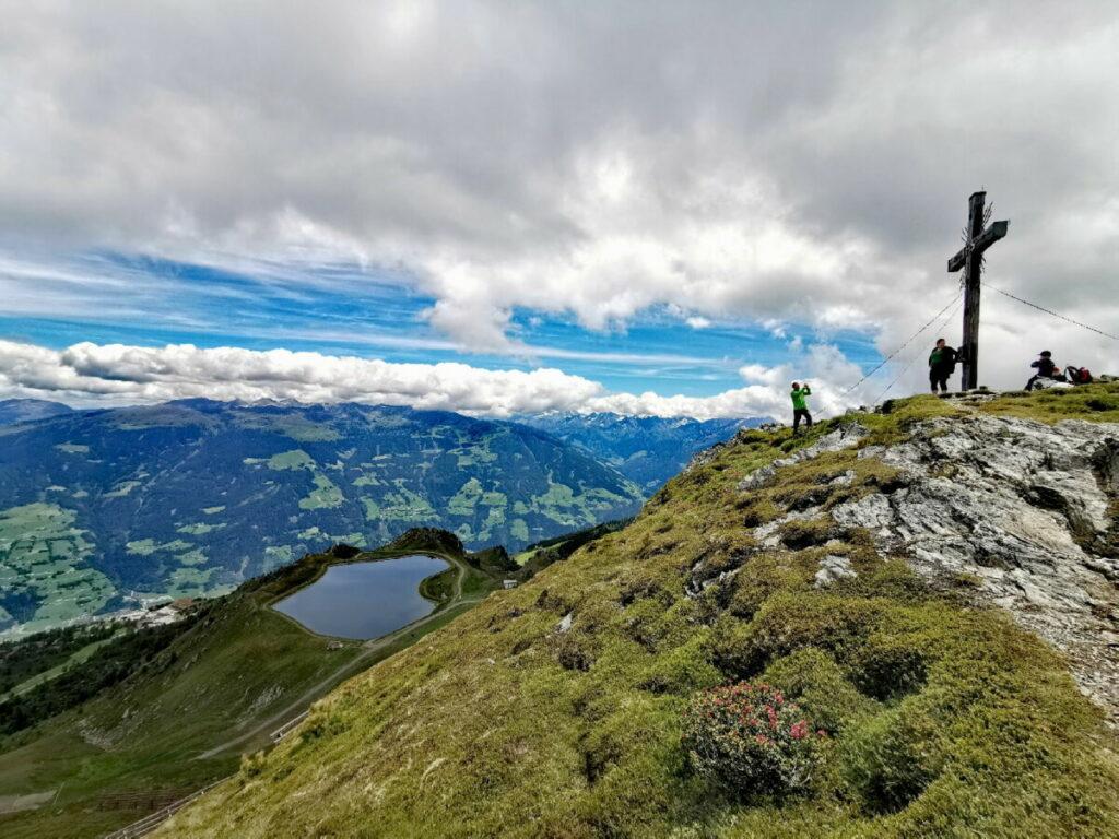 Gedrechter Wanderung im Zillertal