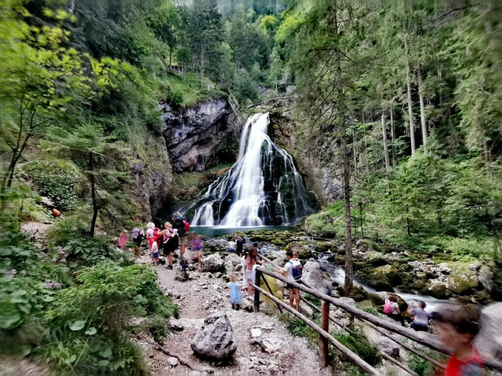 Unser Ausflug zum Gollinger Wasserfall