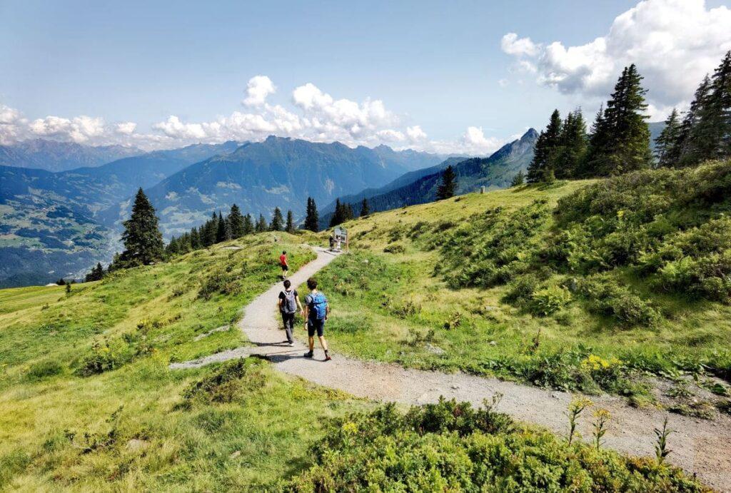 Golm Montafon - Aussichtsberg in Österreich mit Kindern