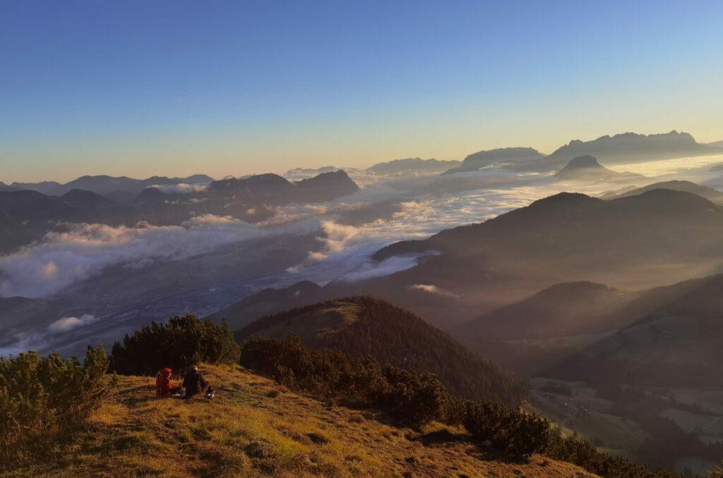 Im Alpbachtal wandern mit Kindern - wundschön ist die Gratlspitze
