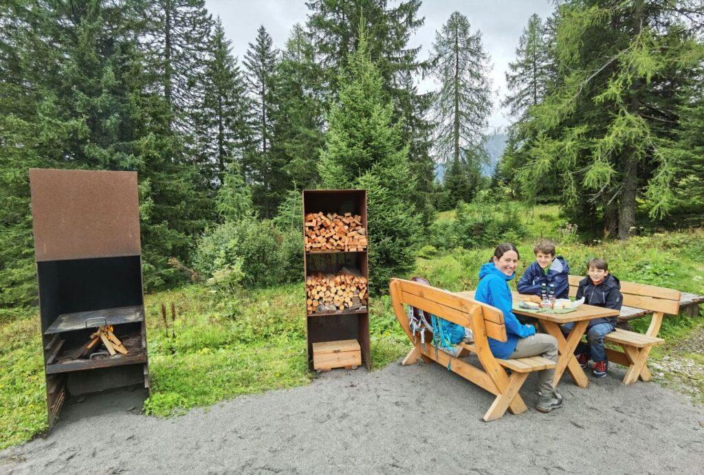 Öffentlicher Grillplatz am Berg - hier darfst du am Berg grillen
