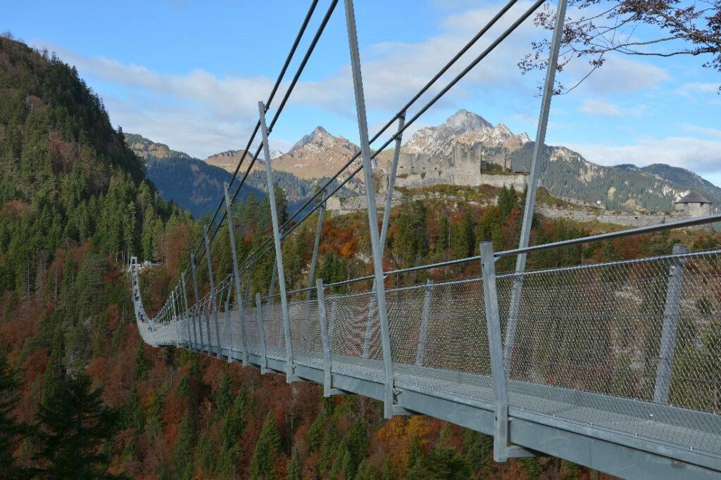 Highline 179 Reutte - merk dir den Ausflug in Tirol