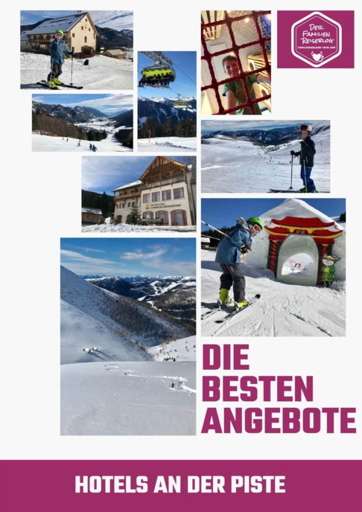 Hotel an der Piste - merken für den nächsten Skiurlaub!