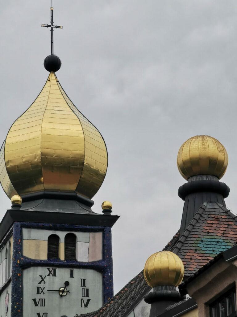 Die Hundertwasserkirche lohnt sich als Ausflugsziel ab Maria Lankowitz