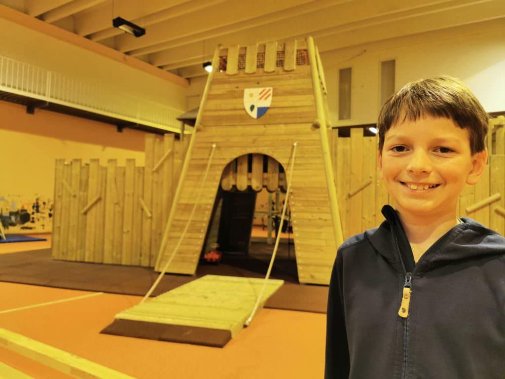 Indoor Spielplatz im Familienhotel Brandnertal mit Kindern